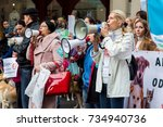 odessa  ukraine   october 15 ... | Shutterstock . vector #734940736