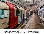 london  uk   october 15  2016 ... | Shutterstock . vector #734954002