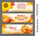 Banners For Autumn Harvest...