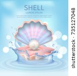 Shell Elegant Poster With Text...