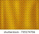 stainless steel texture | Shutterstock . vector #735174706