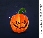 vector color illustration of... | Shutterstock .eps vector #735229606