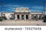 milan  italy   circa september  ... | Shutterstock . vector #735275656