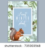 Vector Vintage Banner With...