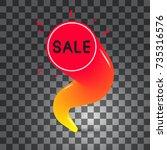 sale icon  colorful design...   Shutterstock .eps vector #735316576