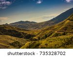 assy plateau in the early... | Shutterstock . vector #735328702