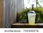 Beverage Lemon In The Plastic...