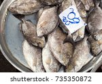 Small photo of false trevally fish(character is abbreviation for kilogram)