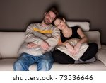 a candid photo of a young... | Shutterstock . vector #73536646