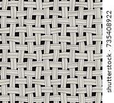 vector seamless pattern....   Shutterstock .eps vector #735408922