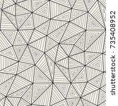 vector seamless pattern....   Shutterstock .eps vector #735408952
