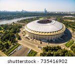 moscow  russia   august 19 ... | Shutterstock . vector #735416902