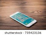 bangkok  thailand   oct 16 ... | Shutterstock . vector #735423136