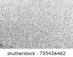 noise texture.grunge dust grain ... | Shutterstock . vector #735436462
