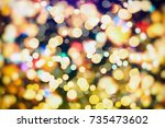 magic background  | Shutterstock . vector #735473602