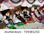 cluj napoca  romania   october... | Shutterstock . vector #735481252