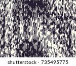 abstract grunge vector... | Shutterstock .eps vector #735495775