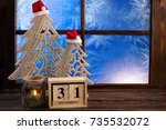 new year background. happy new... | Shutterstock . vector #735532072
