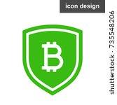 crypto money safe | Shutterstock .eps vector #735548206