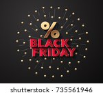 vector background for black... | Shutterstock .eps vector #735561946