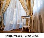 Interior Of Luxury Vintage...
