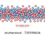 Vector 3d Social Network Like...