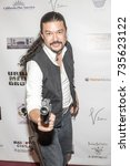Small photo of Fon Davis attends Red Carpet Halloween Hotness 4: Heating Up For the Cure at American Legion Post 43, Los Angeles, California on October 10th 2017