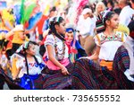 tlaxcala  mexico   february 23... | Shutterstock . vector #735655552