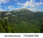 View of Mount Mansfield - Vermont, USA