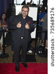 Small photo of New York, NY - August 13, 2015: Aleksander Bach attends Hitman: Agent 47 New York premiere at AMC Empire 25 theater