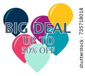 super sale background design   Shutterstock .eps vector #735718018
