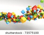 abstract background | Shutterstock . vector #73575100
