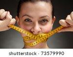 diet concept | Shutterstock . vector #73579990