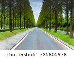 road | Shutterstock . vector #735805978