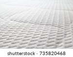 memory foam mattress | Shutterstock . vector #735820468