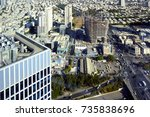 israel   tel aviv  15 october... | Shutterstock . vector #735838696