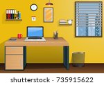 vector illustration of... | Shutterstock .eps vector #735915622