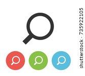 search vector icon. design...