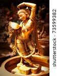 Statue Of Indian Hindu God...
