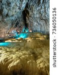 Small photo of Zlatibor, Serbia August 05, 2017: Stopica cave is a limestone cave near Sirogojno, on the slopes of Mount Zlatibor in the Dinaric Alps, in western Serbia.