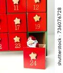 advent calendar   Shutterstock . vector #736076728
