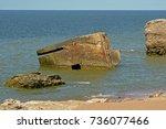 Sunken Old Bunker In The Balti...