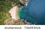 Beauty Butterfly Beach Aerial...