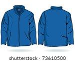 Vector Illustration Eps Jacket Design For Template Mens Sweatshirt