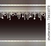 jewelry background | Shutterstock .eps vector #73611073