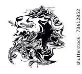lion | Shutterstock .eps vector #73612852