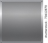 shiny metal grid. all elements...   Shutterstock .eps vector #73612870