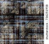 seamless pattern tartan design. ...   Shutterstock . vector #736251958