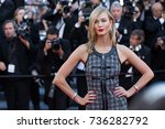 cannes  france   may 20  2015 ... | Shutterstock . vector #736282792