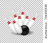 vector realistic isolated... | Shutterstock .eps vector #736350538